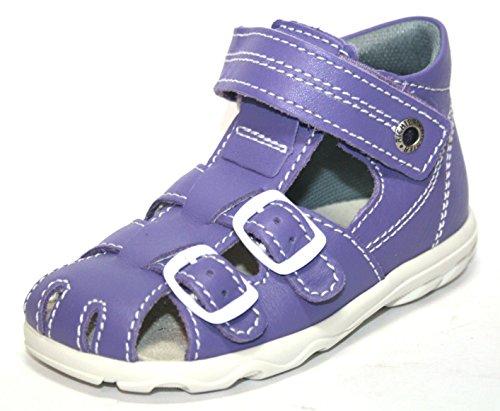 Juge Chaussures pour enfants 2106351garçon & fille Sandales Unisexe - Bleu - Violett (Lilac1400), 25 EU