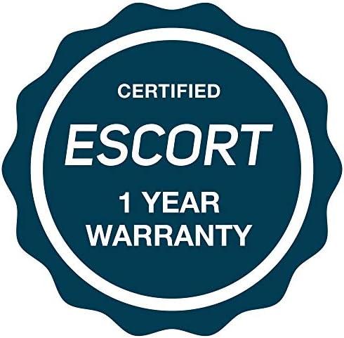 "Escort Passport 8500 X50 Radar Detector – Extended Long Range, AutoMute, AutoSensitivity, Audible Alerts, Adjustable LED Display, Signal Strength Meter, Grey, 1.25""X2.85""X5.32"""