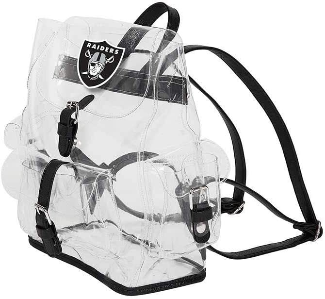 The Northwest Company NFL unisex-adult Lucia Clear Backpack