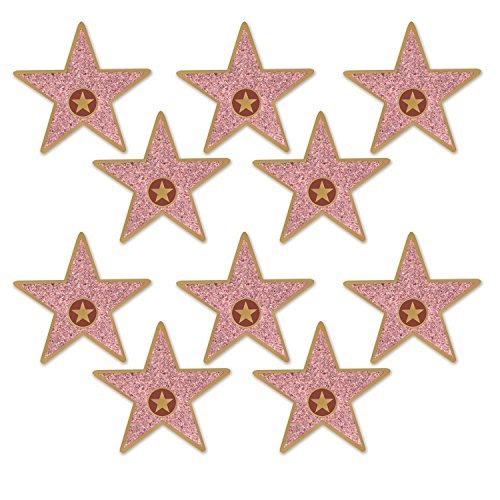 Beistle 58048 Mini Star Cutouts, 5, Multicolor (Value 3-Pack)