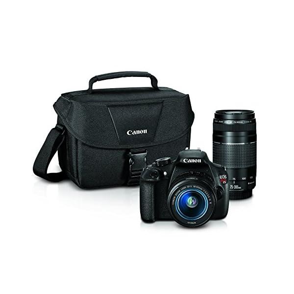 51kGlATJzSL. SS600  - Canon EOS Rebel T5 Digital SLR Camera with EF-S 18-55mm IS II + EF 75-300mm f/4-5.6 III Bundle