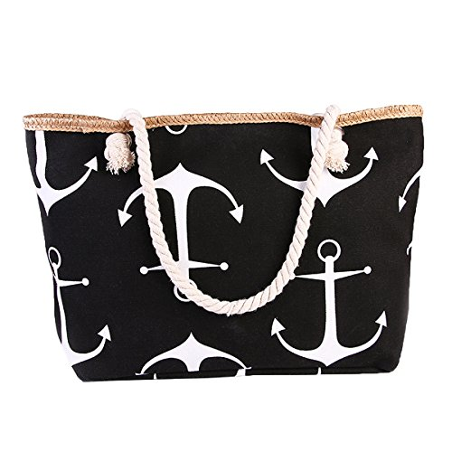 burning-secret-women-fashion-anchor-canvas-large-tote-shoulder-beach-bag