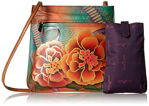 FLJ Python Bag Bloom 452 Anuschka Cross Body H5ffpw