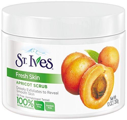 Invigorating Apricot - St. Ives Fresh Skin Invigorating Apricot Scrub, 10 Ounce by St. Ives