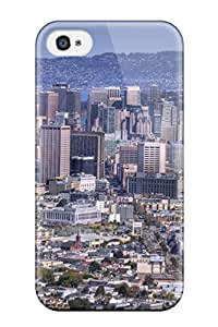 High Quality City Man Made Case For Iphone 4/4s / Perfect Case
