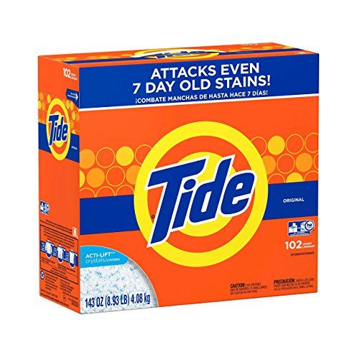 Laundry Detergent Tide He Turbo Original Powder, Pack of 3 by Laundry Detergent