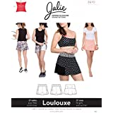 Jalie Loulouxe 3670 Skirt with Attached Shorts Skort Tennis Sewing Pattern 3670