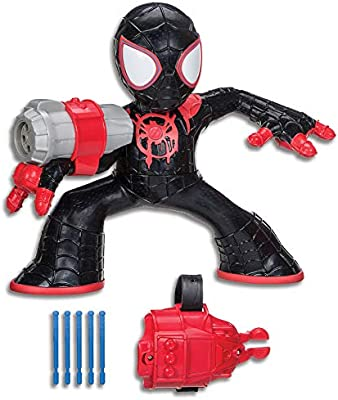 "Hasbro Spin Vision Spider-Ham Spider-Man dans le Spider Verse Movie 8/"" Figure"