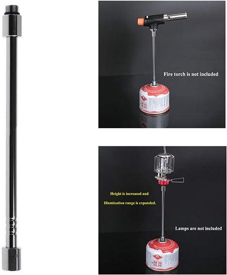 Breeezie Linterna de Gas Extensión Tube Blow Torch Extender Polo ...