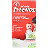 Tylenol infants Dye Free White Grape Drops, 15 ml