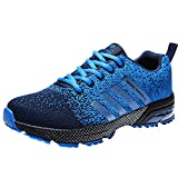 SYKT Running Shoes Mens Womens Fashion Sneakers Tennis Sports Casual Walking Athletic Fitness