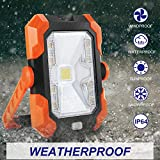 Portable LED Work Light,BEIEN Rechargeable Solar