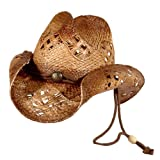 img - for Sonoma - Raffia Straw Cowboy Hat (Small) book / textbook / text book
