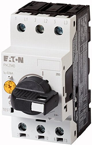 Eaton 265332 IR = 0.16 – 0.25 A Motor Protection Circuit Breaker 3-Pin Toggle Lockable