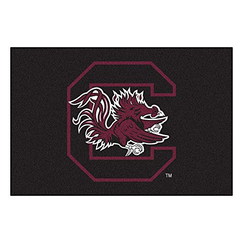 - FANMATS NCAA University of South Carolina Gamecocks Nylon Face Starter Rug