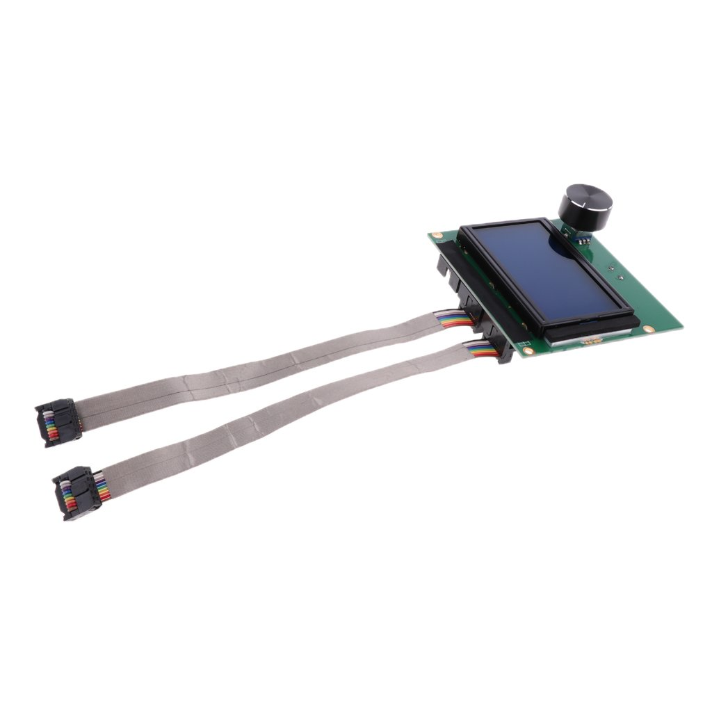Homyl LCD Display Controller Display with Cord Kit for Creality CR-10S 3D Printer Replacment Part
