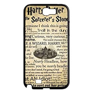 Custom Harry Potter Hard Back Cover Case for Samsung Galaxy Note 2 NT225 by runtopwell