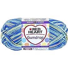 Coats Yarn Red Heart Gumdrop Yarn, Blueberry by Coats & Clark Inc.