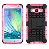 JAMMYLIZARD [ Samsung Galaxy A5 Case ] ALLIGATOR Heavy Duty Double Protection Rugged Back Cover, Hot Pink