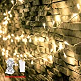 LED String Lights, by myCozyLite, Plug in String Lights, 69 Ft 200 LED Warm White Lights String with Timer, Waterproof, Perfect for Indoor and Outdoor Use with 30V Low Voltage Transformer