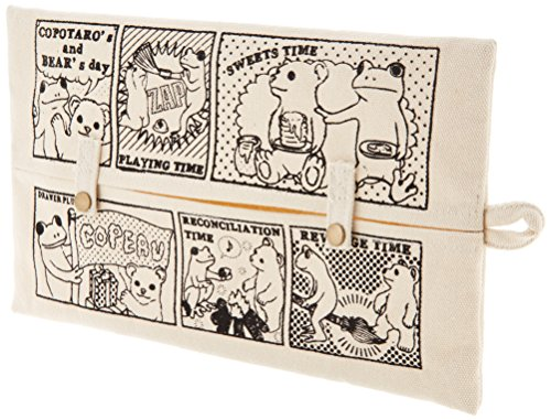 Copeau storage TISSUE CASE One day of the frog and the bear 70940