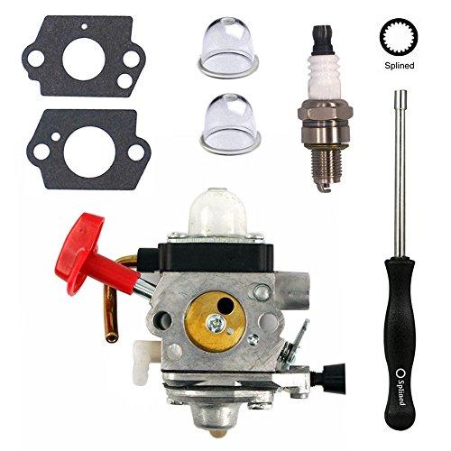NIMTEK New Carburetor with Spark Plug Adjustment Tool For Stihl FS87 FS90 FS100 FS110 HT100 HT101 HL100 HL90 FC95 FC90 Carb by NIMTEK