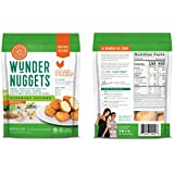 Wundernuggets - Original Rosemary Chicken with Veggies and Whole Grains, All Natural - Pack of 6 Bags (14-16 wundernuggets in each bag) - Ready in Minutes!