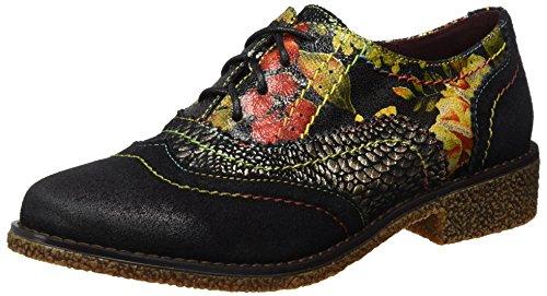 Mujer Coralie 11 Vita Zapatos Laura noir Schwarz 1qF7BBn