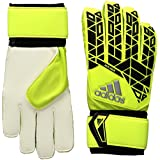 adidas Performance Ace Replique Goalie Glove, Solar Yellow/Black/Onix Grey, Size 7
