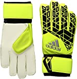 adidas Performance Ace Replique Goalie Glove, Solar Yellow/Black/Onix Grey, Size 10