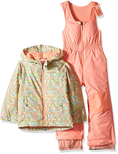- Columbia Kids & Baby Toddler Kids Frosty Slope Set, Tiki Pink Floral Print, 3T