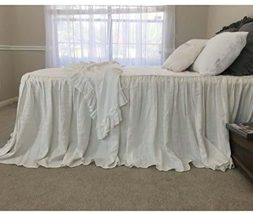 Amazon.com: Soft white bedspread, off white bedspread, off ...