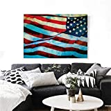 homehot American Flag The Picture for Home Decoration American...