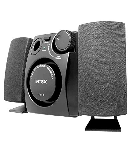 Intex IT 881S 2.1 Desktop Speakers   Black