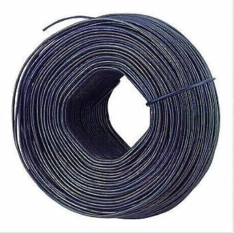 American Wire Tie - 20 coils- Black Annealed 16 Gauge Rebar Tie Wire ...