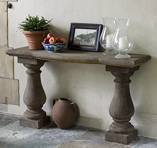 Campania International T-108-TN Vicenza Console Table, Terra Nera - Terra Console