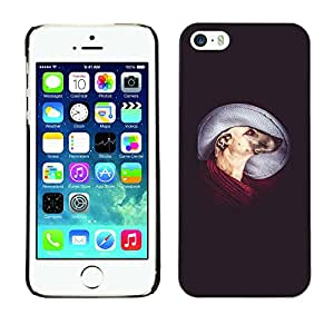 Paccase / SLIM PC / Aliminium Casa Carcasa Funda Case Cover - Greyhound Mutt Mongrel Art Dog - Apple Iphone 5 / 5S
