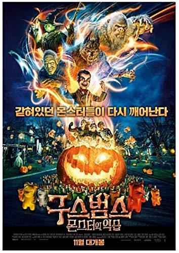 Goosebumps 2: Haunted Halloween, 2018 Korean Mini Movie Posters Movie Flyers (A4 size)]()