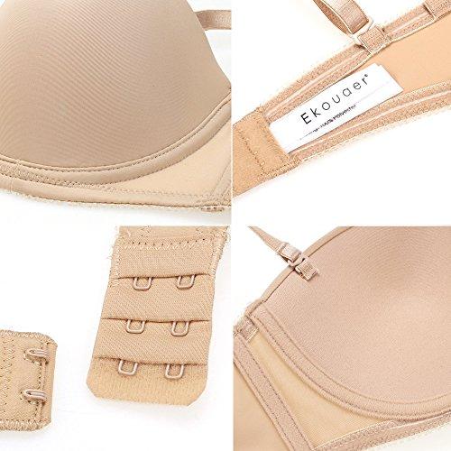 Best ekouaer t shirt bras women 39 s backless strapless for Strapless t shirt bra