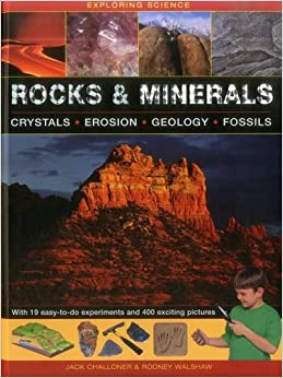 Book Rocks and Minerals: Crystals * Erosion * Geology * Fossils (Exploring Science)