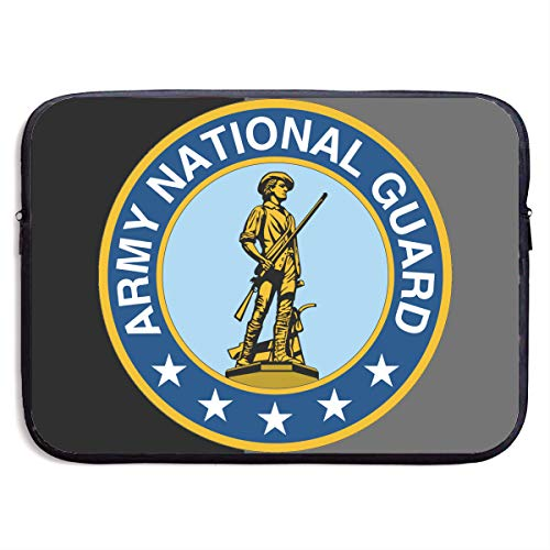 Maine Army National Guard Notebook Bags Zipper Laptop Bag 13 Inch Laptop Sleeve Case Bag Computer Bag