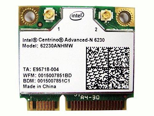 - Intel 6230 62230AN HMW Bluetooth BT WLAN Wireless Card Module for Acer Asus Dell Toshiba Sony Gateway LG