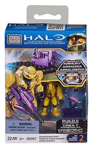 Mega Bloks Halo Covenant Armory Pack II (Halo Mega Bloks Covenant Weapons Pack 2)