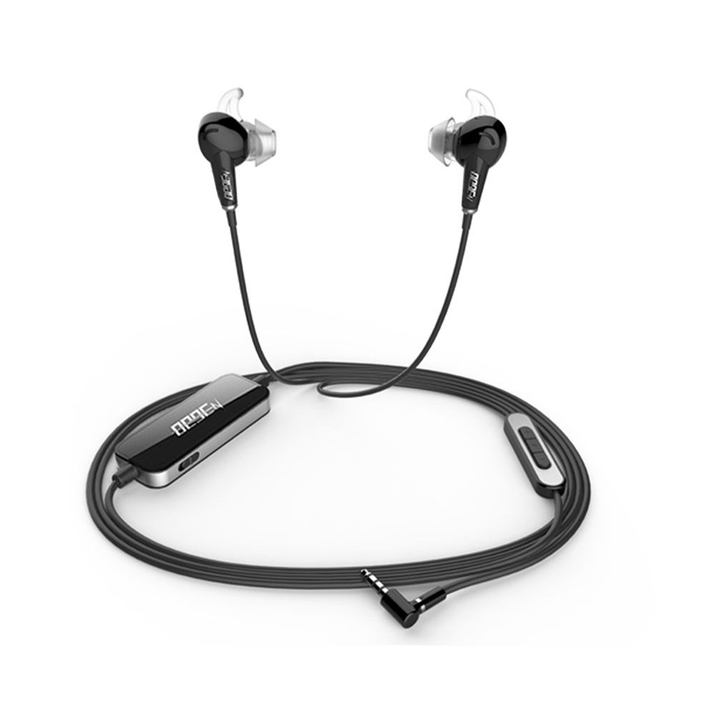 Noise Cancelling Headphones,20 Acoustic Noise Cancelling Headphones with Mic for Apple Devices and Android Devices