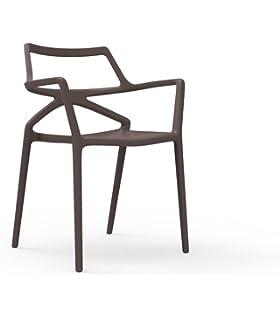 Gartenstuhl design  Vondom Delta Armlehnstuhl - schwarz - Jorge Pensi Design Studio ...