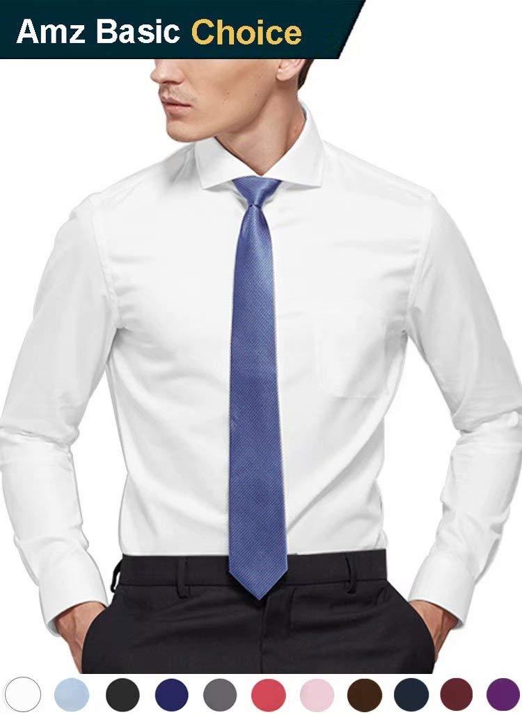 diig Men Dress Shirt White 15