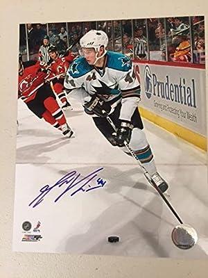 Marc-Eduard Vlasic San Jose Sharks Autographed 8x10 Licensed Photo