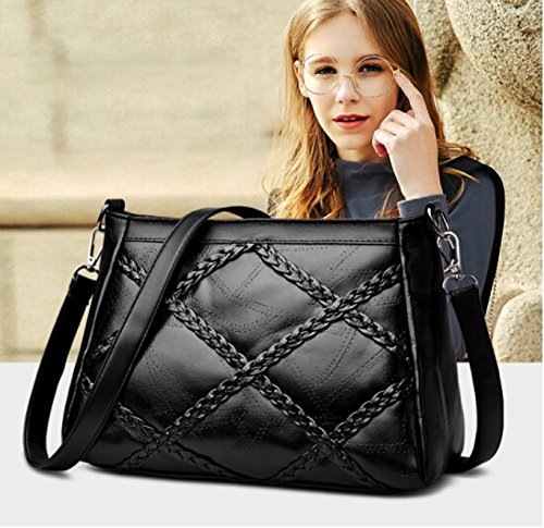 Pattern Shoulder Cross Wild Texture Body Casual Woven New Simple Bag Lyxdbb wqz4RBq
