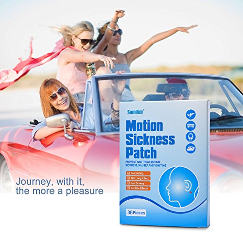 Sumifun 72 Pcs/ 2 Boxes Herbal Motion Sickness Patch by Sumifun (Image #4)