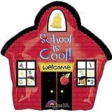 18'' School House Junior Shape Balloon - Pack of 5